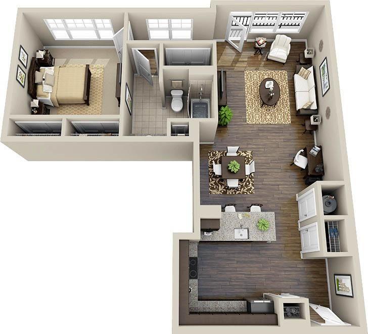 For sale modern L-shape style bungalow