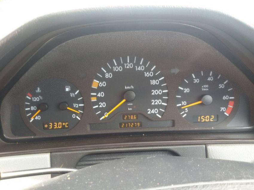 Benz E230 Elegance 1996 for sale