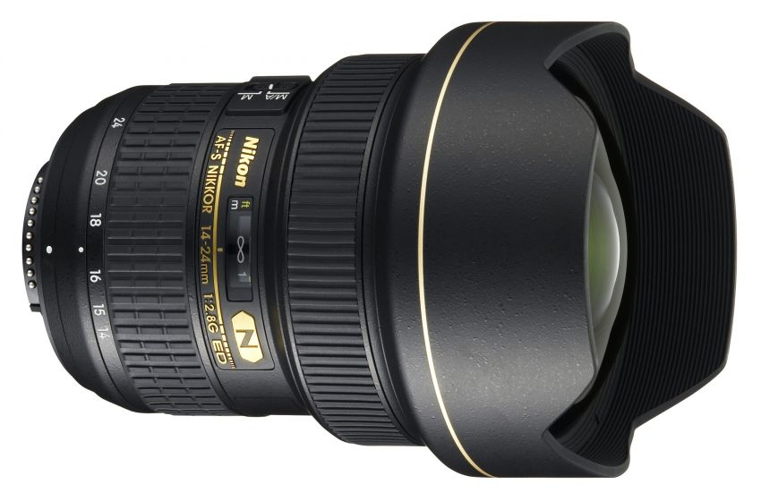 Nikon AF-S  Nikkor 14-24mm F2.8G ED lens