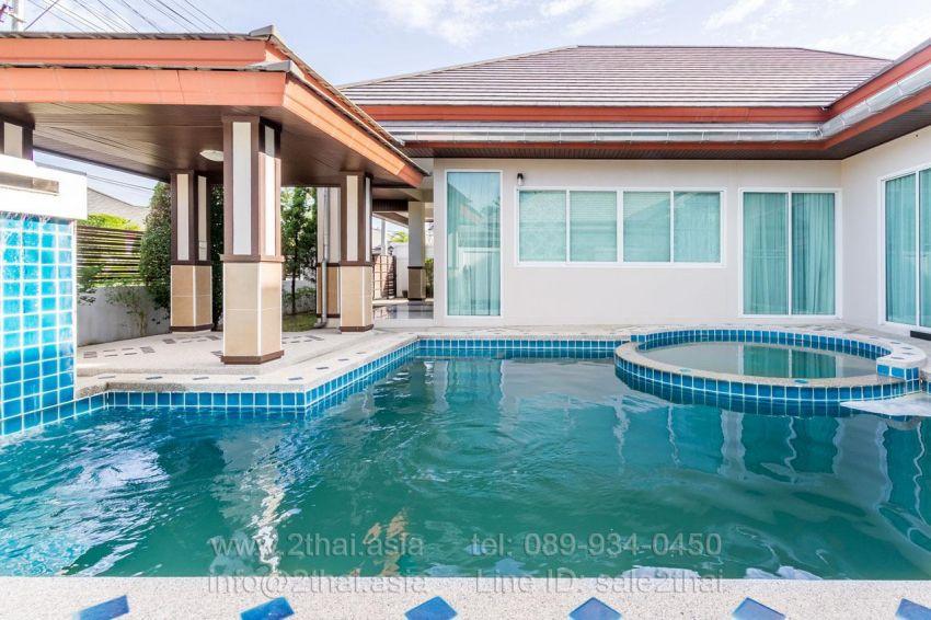 Great 3bedroom pool house in Huay Yai