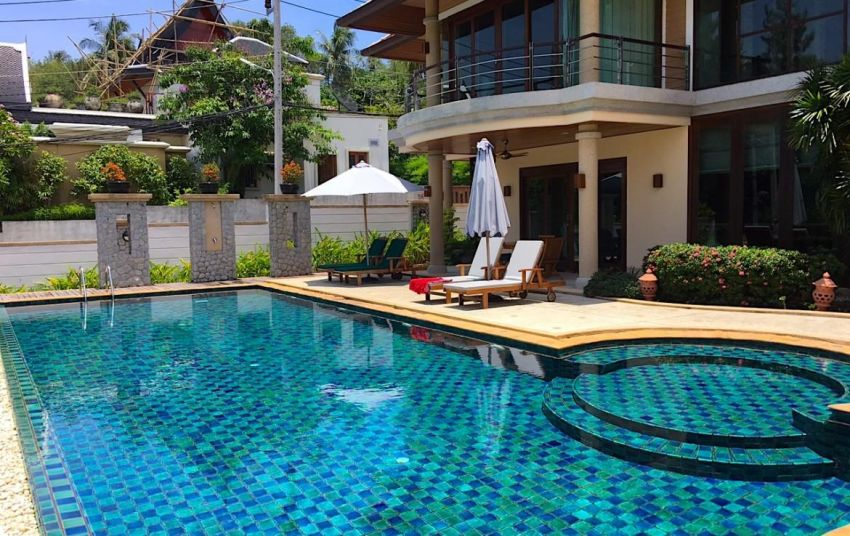 1,664 sqm Pool Villa for sell in Rawai