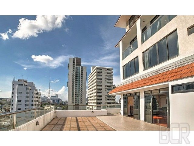 Baan Prompong Condo Renovated 3 Bedroom Unit with Large Terrace Rent