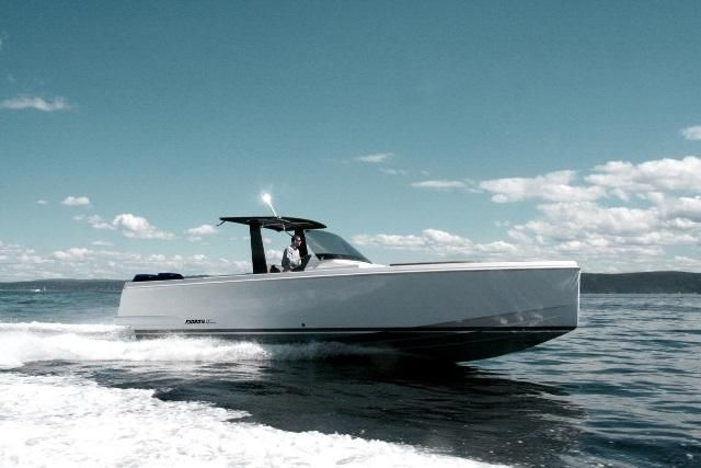 New Fjord 36XPress Latest in Luxury and Now Outboards