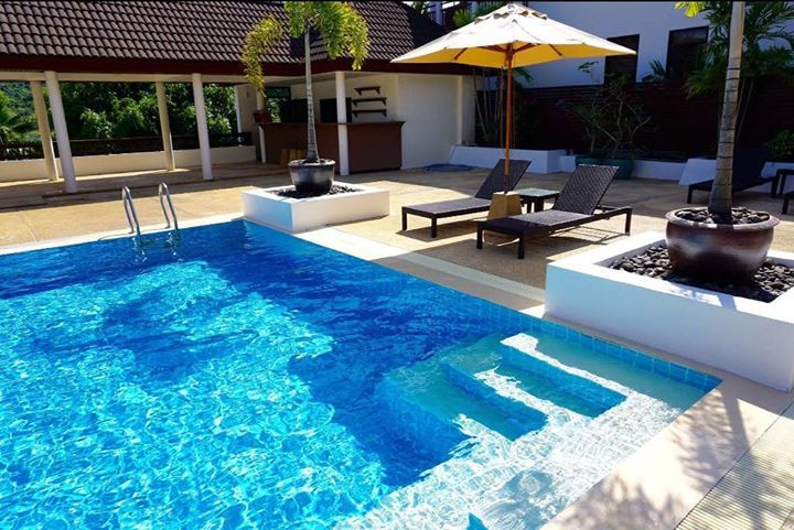 7 bed pool villa for sale or rent in Naiharn