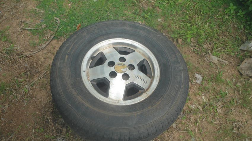 Jeep XJ Face and Wheel