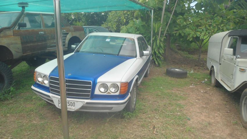 Mercedes 280SE Original Engine and Automatic Gearbox