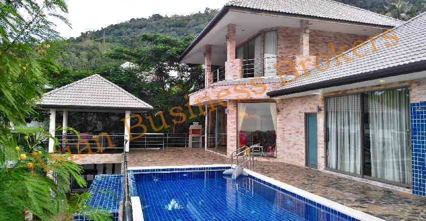 6704004 Rental Villa in Koh Samui with Swimming Pool and Sea