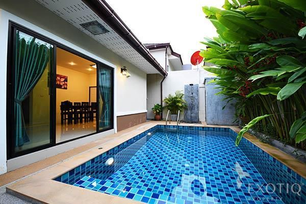 Two-Bedroom Pool Villa for Sale with Excellent Rentals