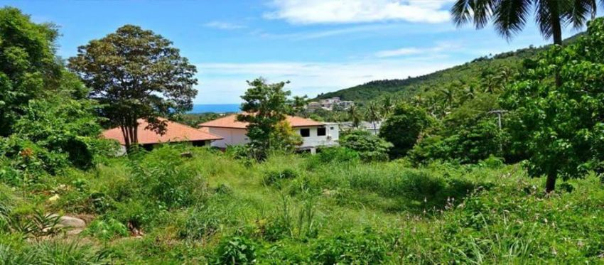 Sea view land for FIRE sale in Chaweng