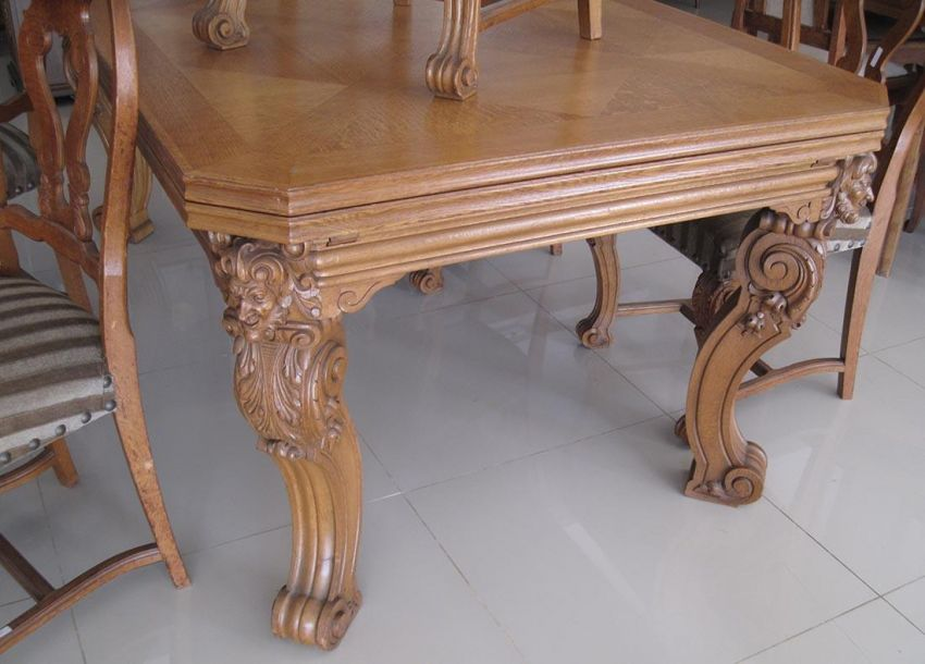 Wonderful Solid Oak Diningset !!