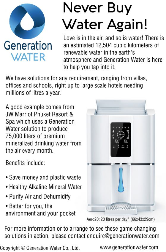 Generate your own drinking water !!