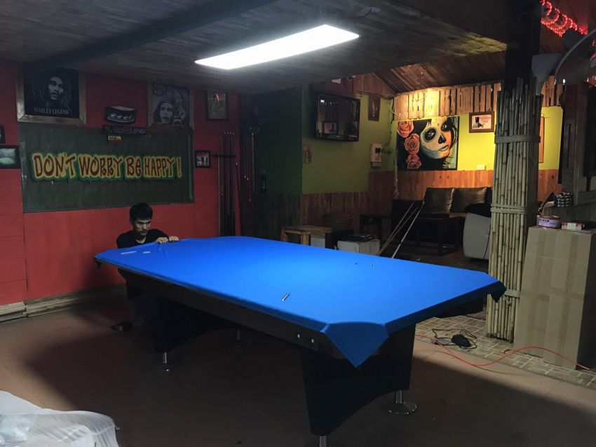Change Cloth Pool / Snooker Table