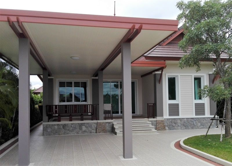 New Cha-am Town Center 3 BR 2 Bath Villa