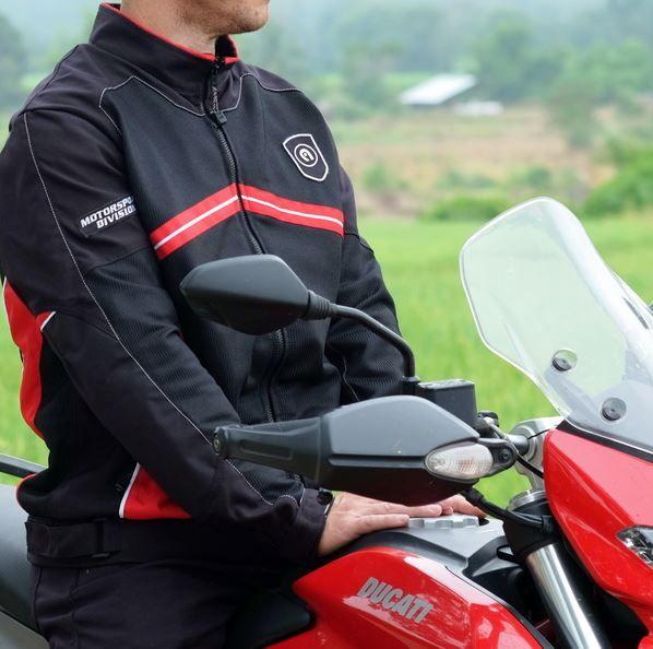 Assero Motorcycle Riding Gear at Chiang Rai Saddlebags