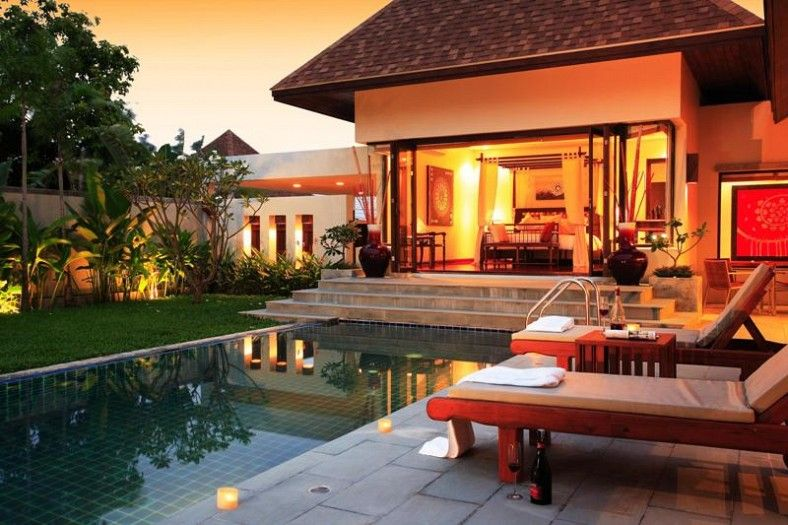 A 3 bed Balinese style pool villa for Sale