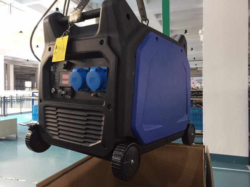 Brand new super silent 5.5 kva gasoline inverter generator.