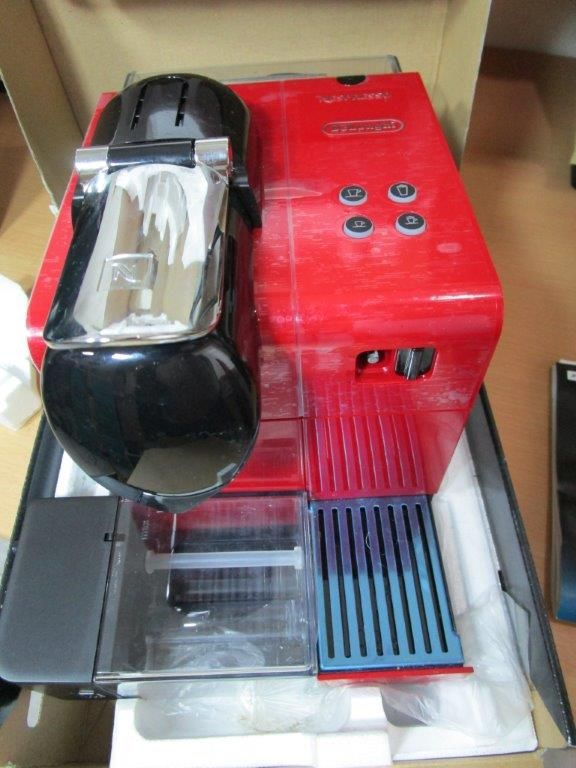 Coffee Machine Nespresso Lattissima New