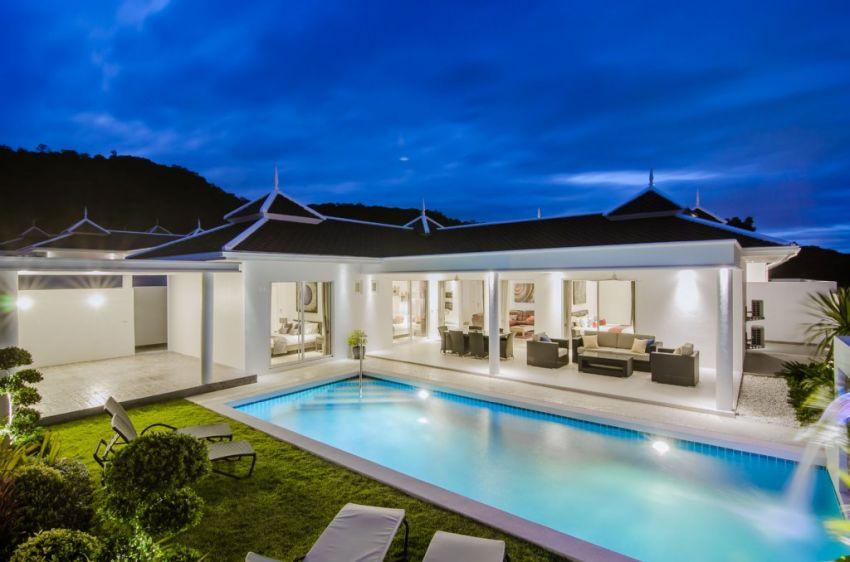 Pool villa in city soi 102 new build Hua Hin