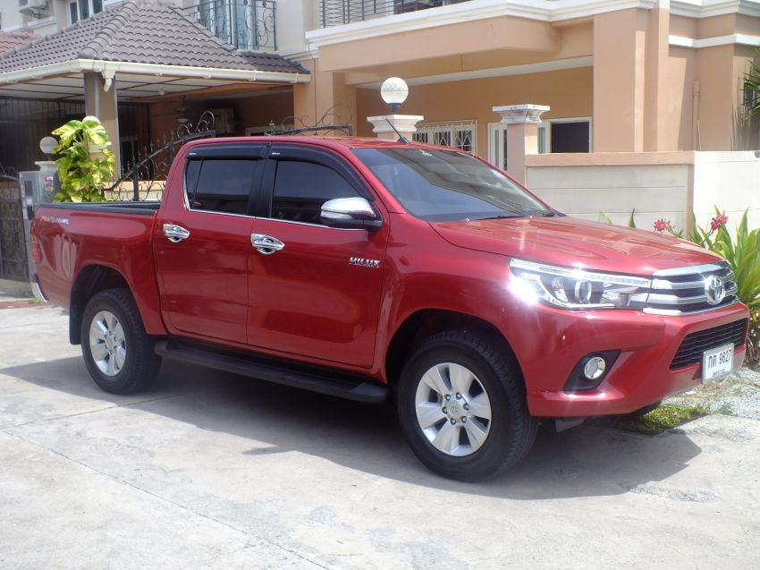 Toyota Hilux Revo And Fortuner For Rent