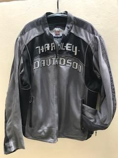 Harley Motorclothes mesh jacket with Kevlar plates, XL