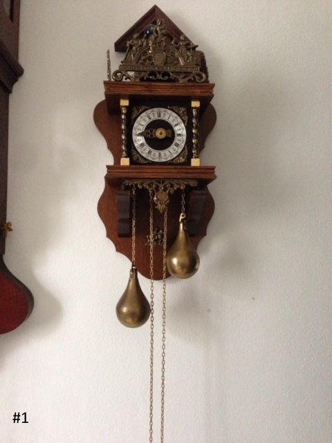 Antique clocks for sale from private collection.