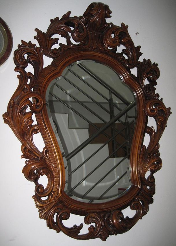 Stunning Two Baroque Mirrors !!