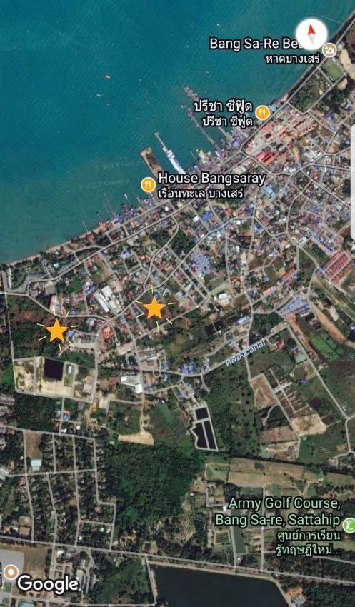 Bang Saray Land for Sale Two plots