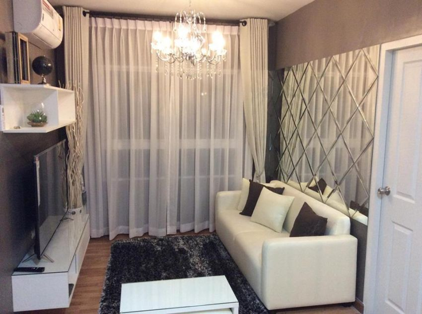 New condo for sale or rent. 59 sqm 2 bedroom,near beach.