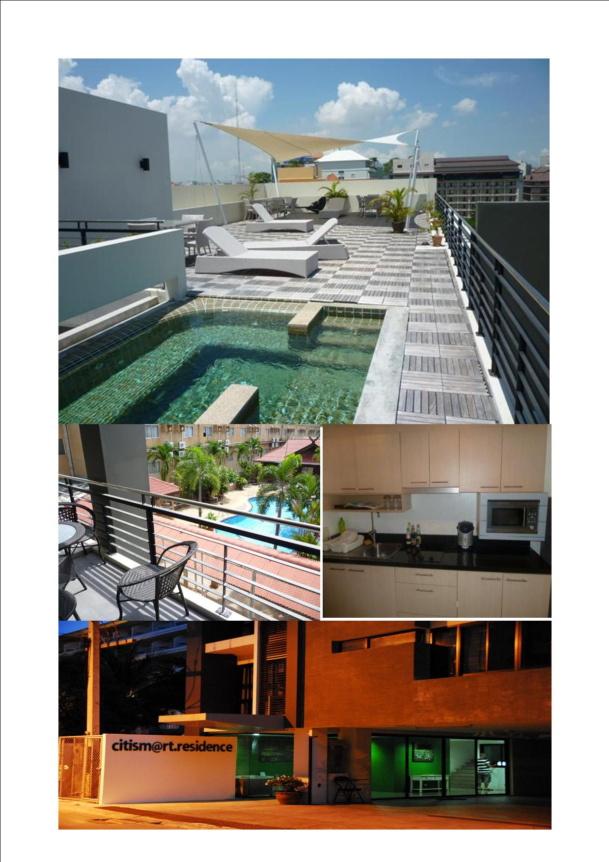 Look Citismart Condo on beach rd Pattaya