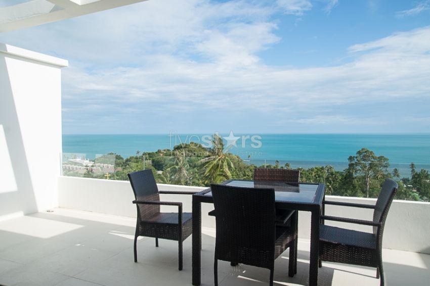 Amazing Panoramic Sea View Apartment near Lamai Beach, Samui