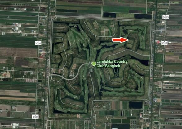 Sale plot 2 rai in Lam luk ka country club golf Bangkok