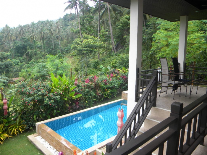 Villa With Pool For Rent In Lamai Koh Samui