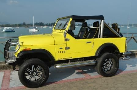 Real Jeep CJ-7 for Sale