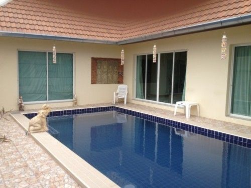 Large 3 Bedroom Villa Fully Furnished with New Tiled Swimming Pool