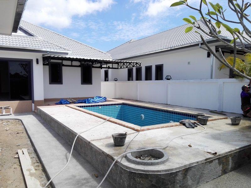 Two 3 BR 3 Bath Pool Villas 5 Home Plots