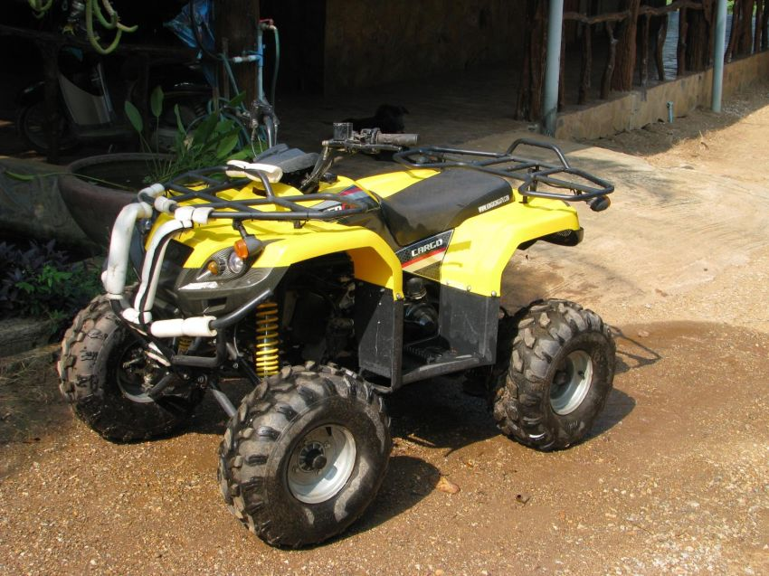 4-Wheel Motorbike in Excellent Condition