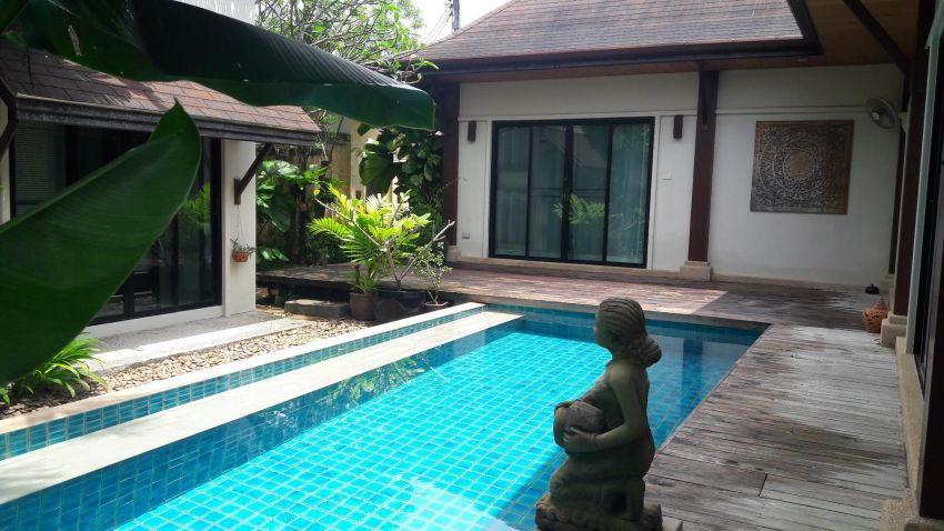 A 2 bed pool villa for sale