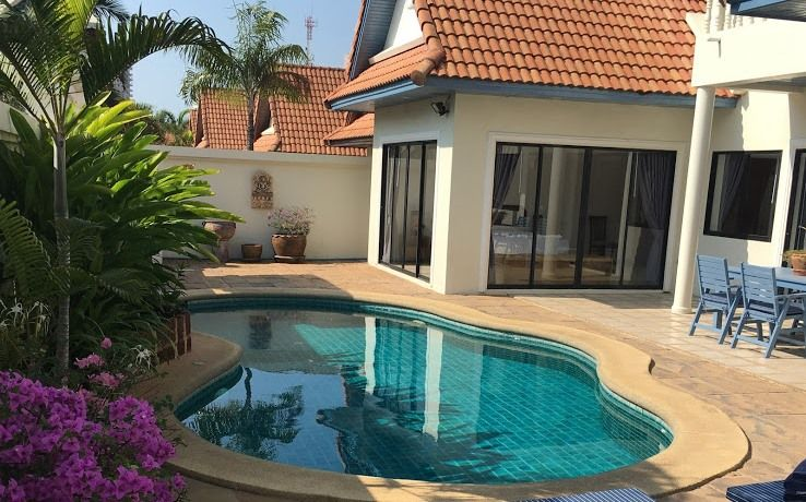 View Talay Villas Jomtien 3 Bedroom Pool Villa Resale