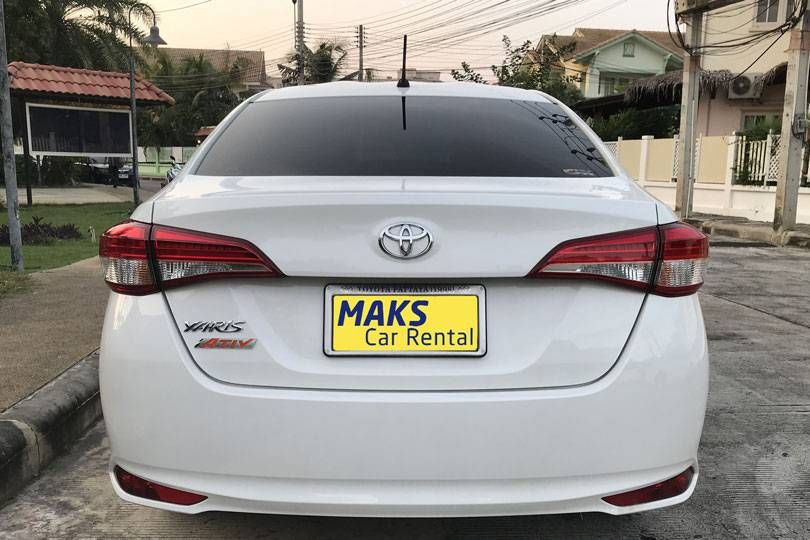 Toyta Yaris Ativ for rent - 386 ฿/day (Monthly)