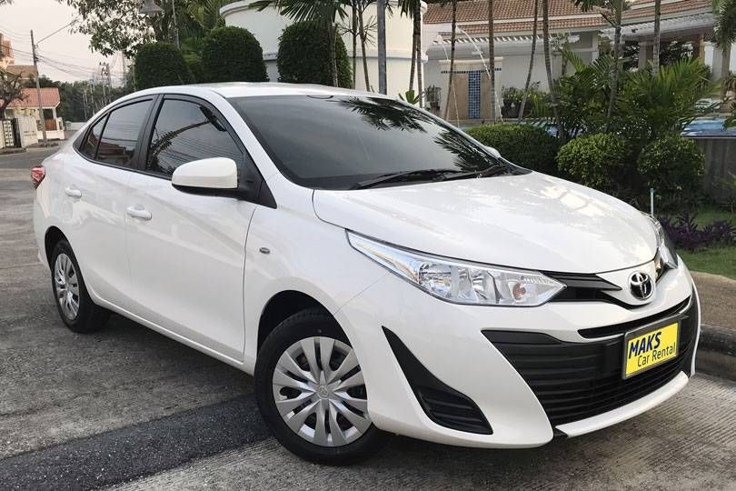 New Toyta Yaris Ativ (2018) for rent