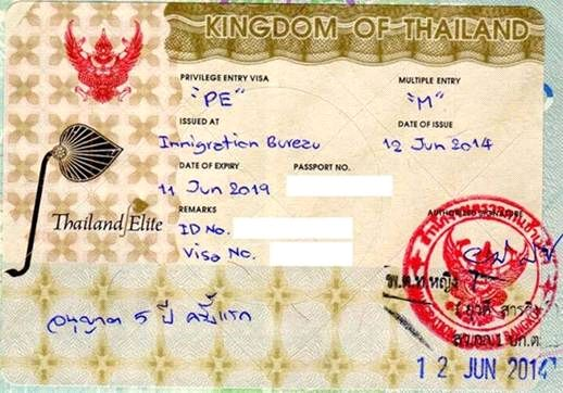 30 Years Thai Elite visa for 2 persons