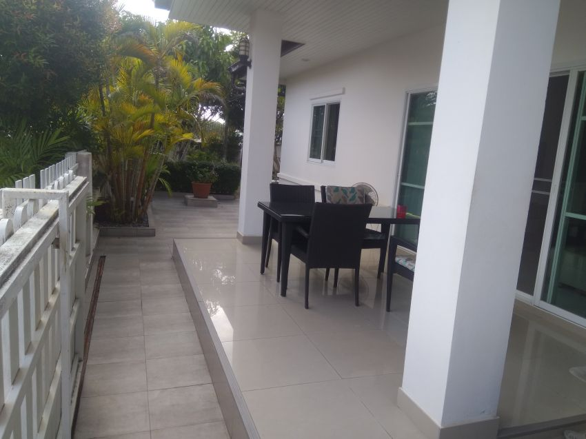 Large 3-Bedroom Villa with large garden for sale /Rent.
