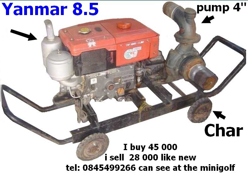 New Motor Diesel Yanmar TF 85 LM For Sale-ubon