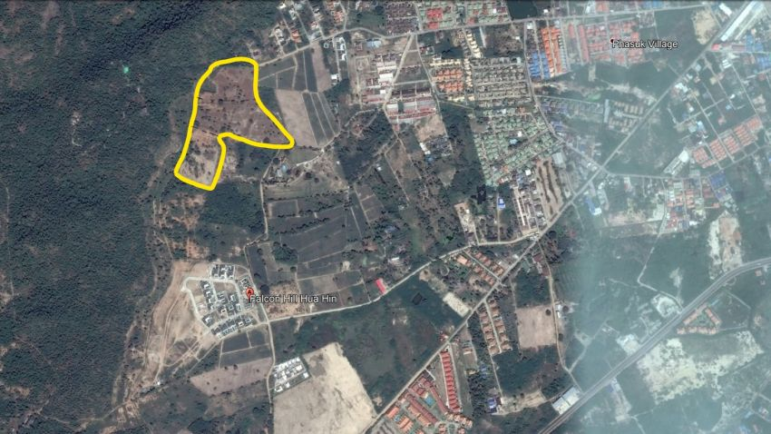 Prime land for sale,centrally located in Hua Hin best area