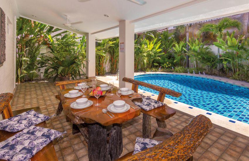 Villa's for sale in 1 street, 5 min walkings street, 15% ROI
