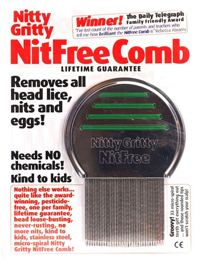 Professional Grade Head Lice Comb