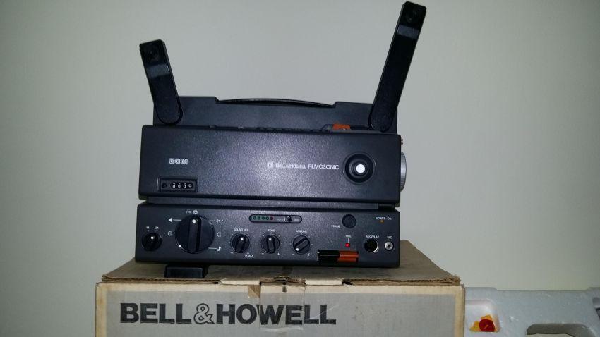 Bell & Howell DCM Super 8mm Sound Projector   Cameras