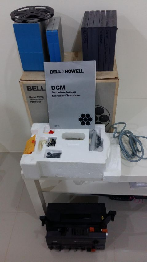 Bell & Howell DCM Super 8mm Sound Projector
