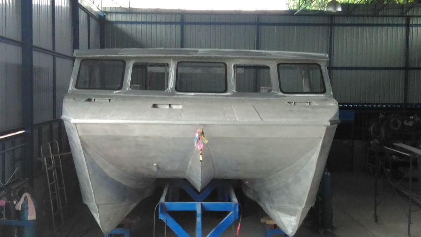 New Aluminum Catamaran