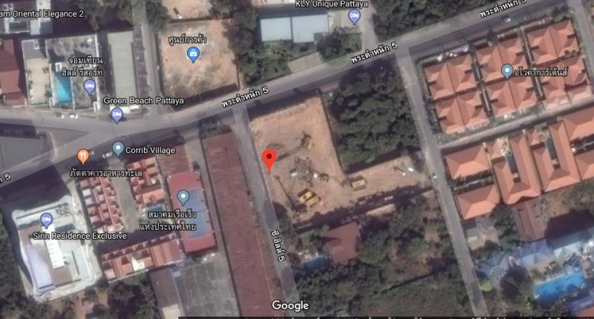 maid road pratumnak soi 5 land for sale